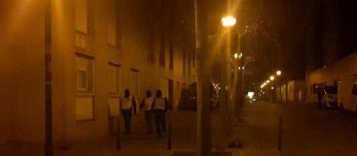 los Mossos, durante el operativo antiyihadista