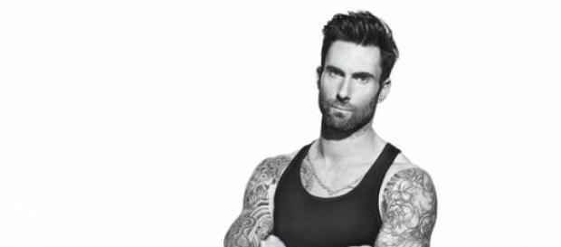Adam Levine, vocalista da banda rock Maroon 5