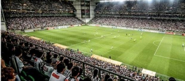 Atlético e Santa-Fé no Horto dia 09/04