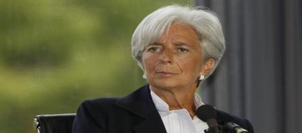 Christine Lagarde é a atual diretora-geral do FMI.