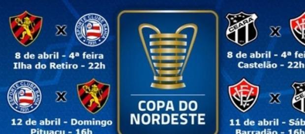 Copa do Nordeste começa suas semifinais