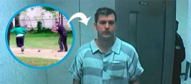 Gracias al video el oficial Slager será juzgado