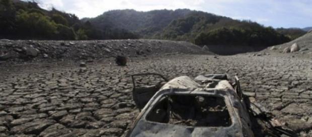 Les eaux souterraines sont en train de se sécher.