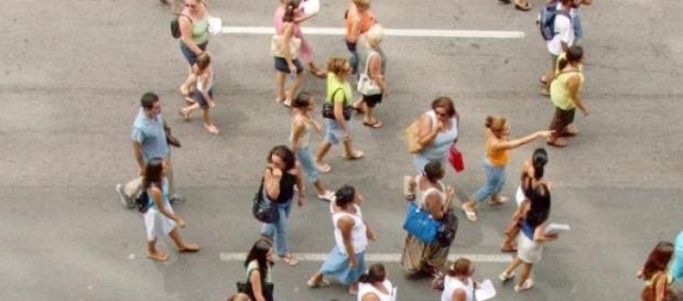 Protestos contra projeto de terceirização