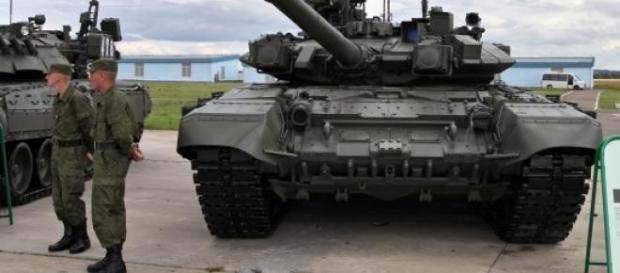 Tropas russas estarão a acumular-se para ofensiva.