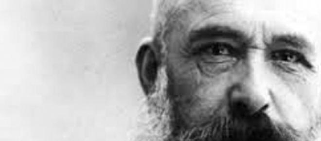 Claude Monet, mestre francês da pintura