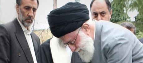 Iranian leader Ayatollah Ali Khamenei