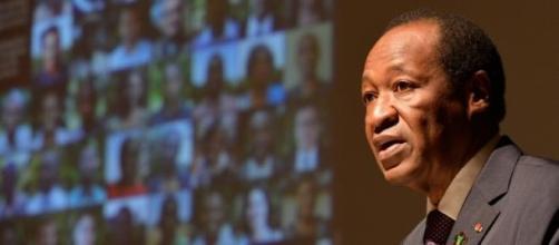 Le président déchu, Blaise Campaoré.