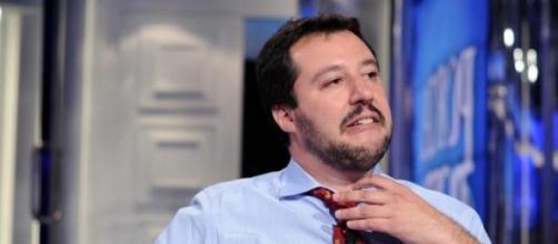 M. Salvini in una delle sue ospitate.