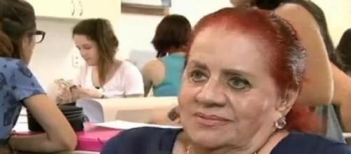 Zuleika foi entrevistada para o Balanço Geral RJ