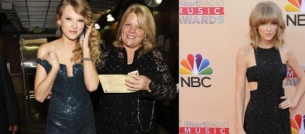 Taylor Swift preocupada com a mãe, Andrea