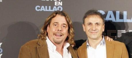 Los cómicos Juan Muñoz y José Mota
