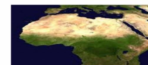 cartina africana immigrazione
