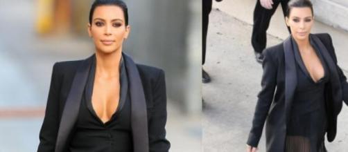 Kim Kardashian arrasou na sua chegada à televisão