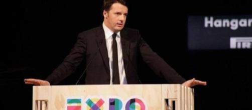 Matteo Renzi all'inaugurazione di Expo 2015