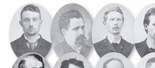 Los mártires de Chicago muertos en EE. UU.