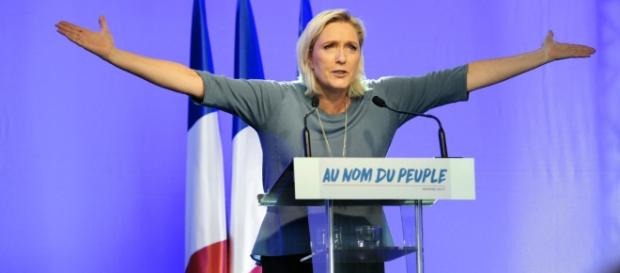 Marine Le Pen - Credit : Politico Europe http://www.politico.eu/article/yes-president-marine-le-pen-is-now-more-possible-trump-clinton/
