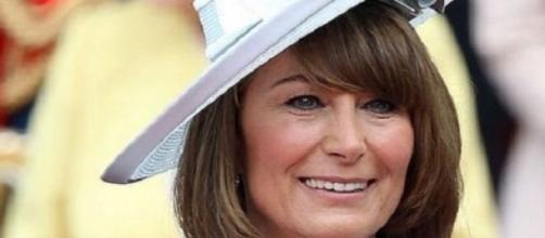 Carole Middleton,  mãe da duquesa de Cambridge