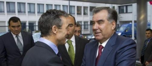 Emomalii Rahmon, président du Tadjikistan