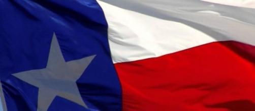 Le drapeau de l'État du Texas.