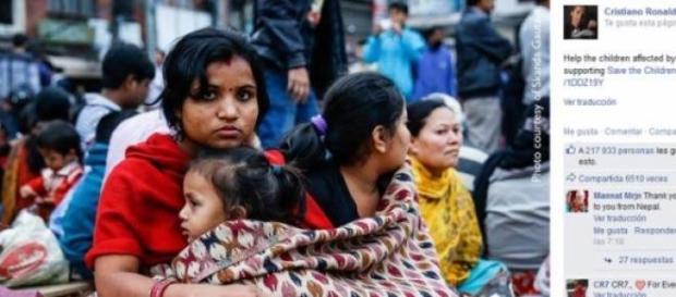 Ayuda a Nepal, CR dona 7 millones de euros