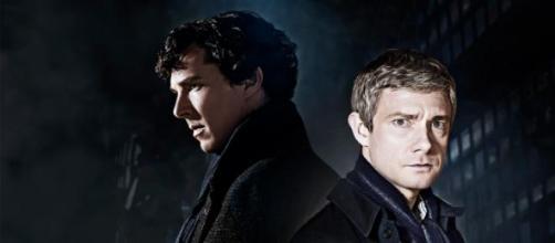 Benedict Cumberbatch y Martin Freeman