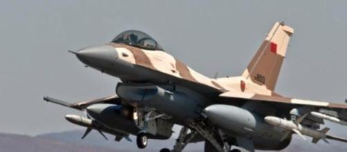 Marrocos perdeu um caça F-16 na tarde de domingo.