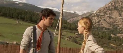 Rita e Isidro innamorati e divisi da Anibal.