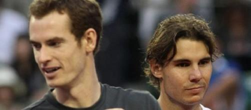 Smiles for Murray as he beat Nadal in Madrid