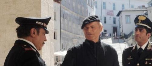 Una ripresa di Don Matteo a Spoleto