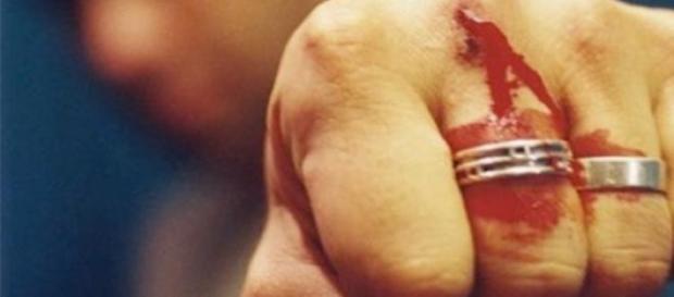 Celebritate din Italia luată la pumni de un român