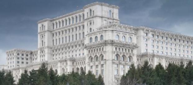 La casa del pueblo en Bucarest