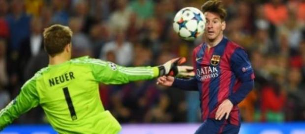 Lionel Messi brilhou na partida da 1ª mão