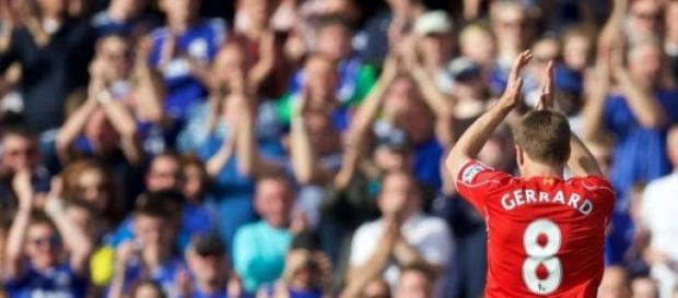 Owacje na stojąco dla kapitana Liverpoolu