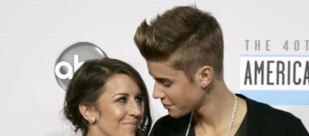 Pattie Mallette e Justin Bieber