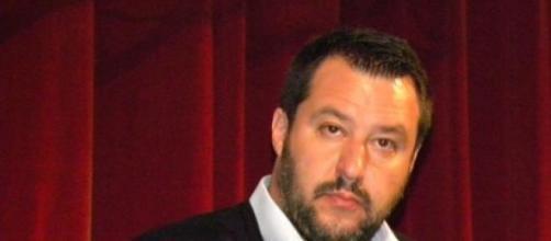 Matteo Salvini a Roma- foto Simona Pagliarini