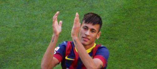 Neymar le marcó dos goles al Bayern Munich