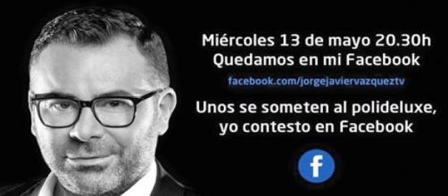 Tienes una cita con Jorge Javier en Facebook