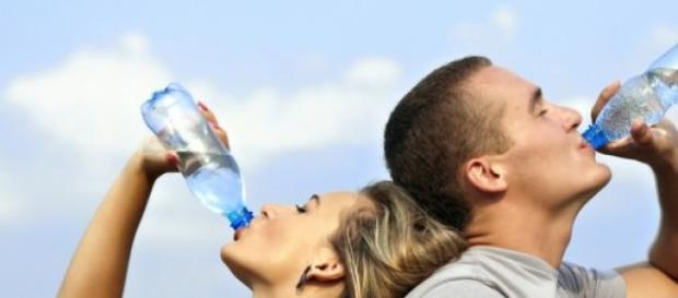A água é a melhor bebida para manter hidratação