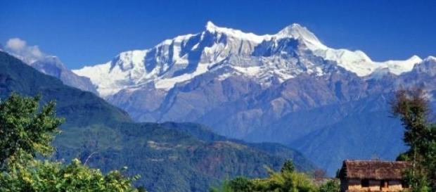 Fantástica vista do Monte Evereste, no Nepal