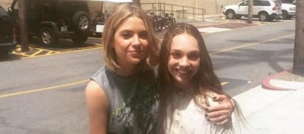 Pretty Little Liars Ashley Benson, Maddie Ziegler