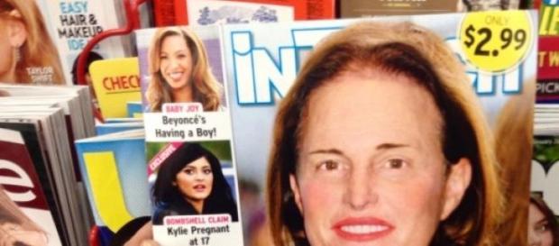 Revista 'Intouch' con Bruce Jenner en portada