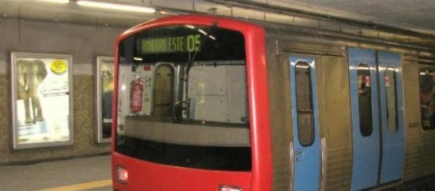 Trabalhadores do Metro contra a subconcessão.