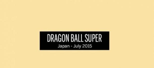 Única foto oficial de Dragon Ball Super