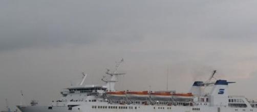 Incendio a bordo del traghetto Francesca