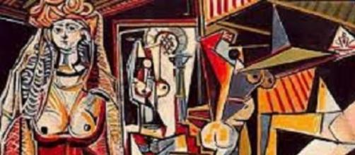 Mulheres de Argel, Picasso, 1955