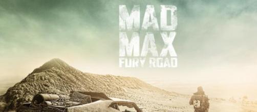 Um dos cartazes de 'Mad Max: A Estrada da Fúria'.