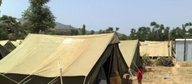 Die Flüchtlinge leben in prekären Verhältnissen