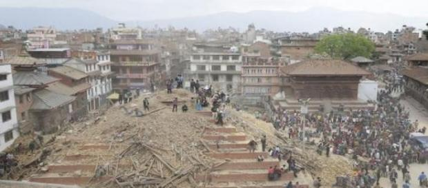 Emergency relief is needed to help Nepal.