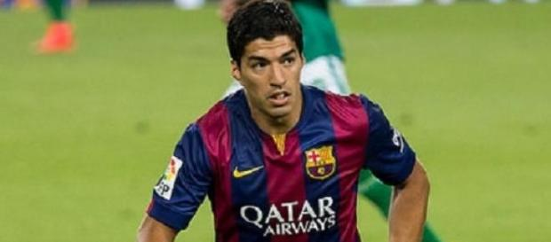 Luis Suarez was influential against Bayern